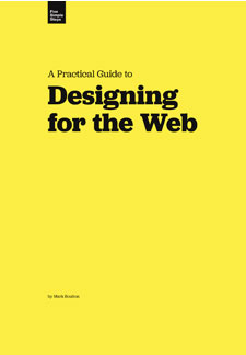 5 simple things - A Practical Guide to Designing for the Web - Εξώφυλλο
