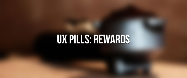 User Experience Design: Rewards