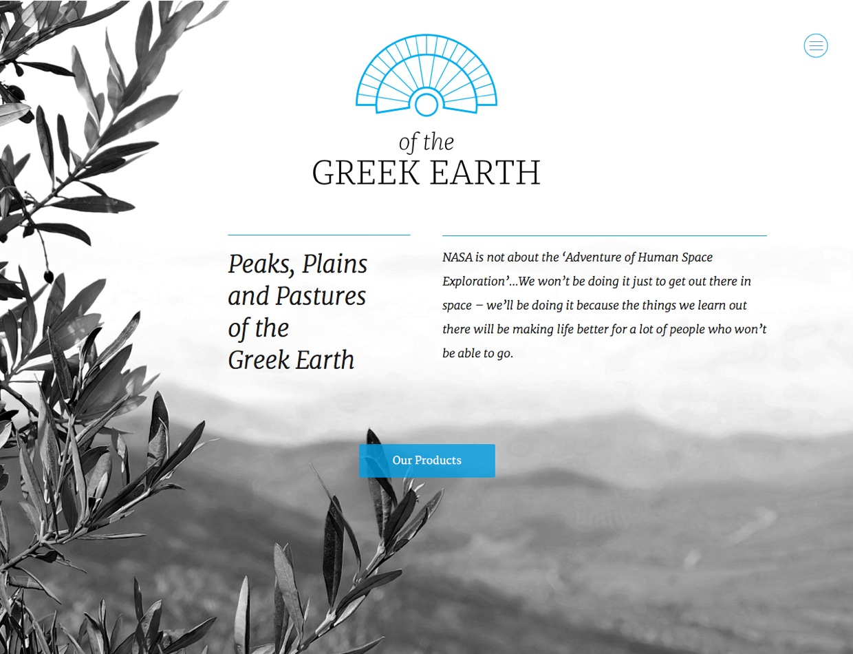 Of The Greek Earth Home
